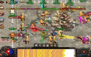 新玩家怎么在180嗜血微变传奇里升级武器呢?