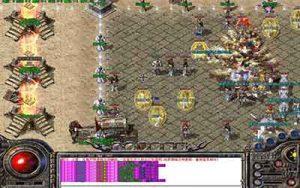 谁知道1.76韩版复古传奇的屠龙雪城组队押镖咋玩?